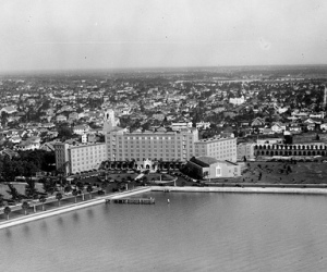 Aerial Shot of the Vinoy Hotel - Bayfront St.Petersburg