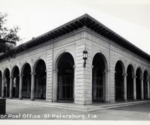 Outdoor Open Air Post Office - Downtown St.Petersburg
