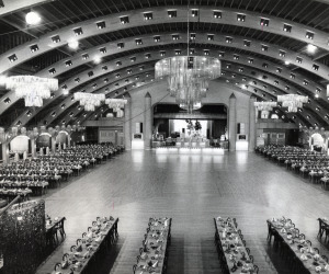 Inside of Coliseum For Dance