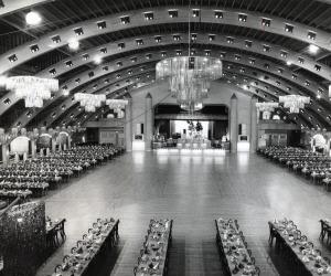 Inside of Coliseum For Dance
