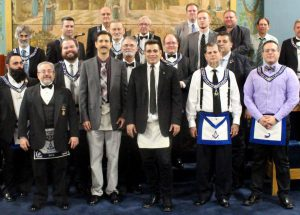 Master Mason Degree - December 8th 2015 - David James & Stephen Cerda (6)