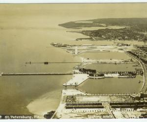 Downtown St Petersburg Waterfront Circa 1935
