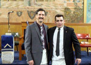 Master Mason Degree - December 8th 2015 - David James & Stephen Cerda (4)