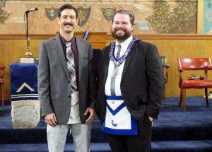 Master Mason Degree - December 8th 2015 - David James & Stephen Cerda (8)